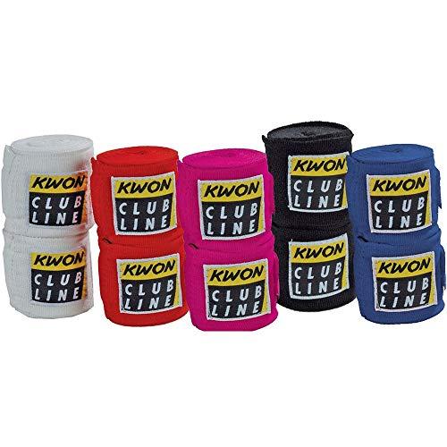 Kwon Boxing bandages elastic black schwarz 554054800