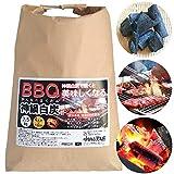 バーベキュー 炭 BBQ 木炭 食材が美味しくなる 独自製法 神鍋白炭 2.5kg 兵庫県産 (着火材無し)【着火改良品】