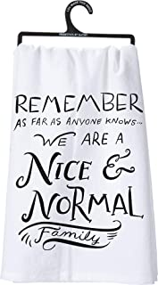 Primitives by Kathy LOL Made You Smile Dish Towel, 28