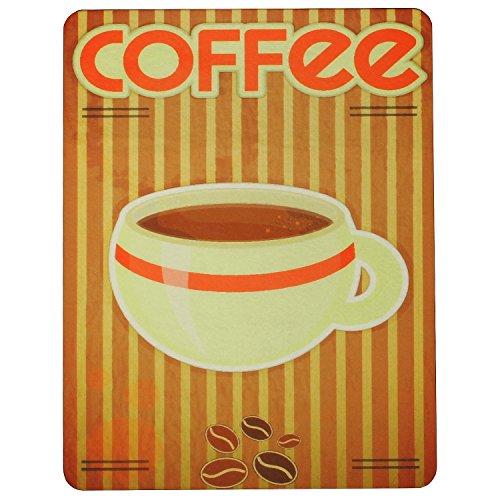 MACOSA PA310 Küchen-Unterlage Coffee Kunststoff 50 x 38,5 x 3 cm Untersetzer für Kaffemaschinen Wasserkocher Küchen-Zubehör Küchengeräte