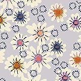 Cotton and Steel - Jersey Stoff Meterware mit Blumen I