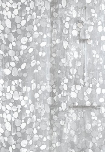 Kleine Wolke 5174116305 douchegordijn Cristal, 180 x 200 cm, doorzichtig