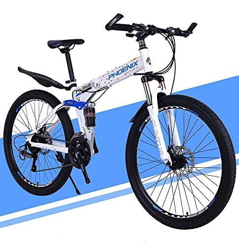 Bicicleta Plegable Urbana, Bicicleta De Montaña Para Niña, Niño, Hombre Y Mujer, 26 Pulgadas Bike Sport Adventure, Bicicleta De Carretera / 26inch