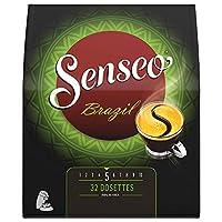 SENSEO Café Brazil 32 dosettes souples - Lot de 5 (160 dosettes)