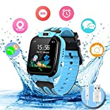 bhdlovely Reloj Inteligente para niños Teléfono a Prueba de Agua, smartwatch para niños...