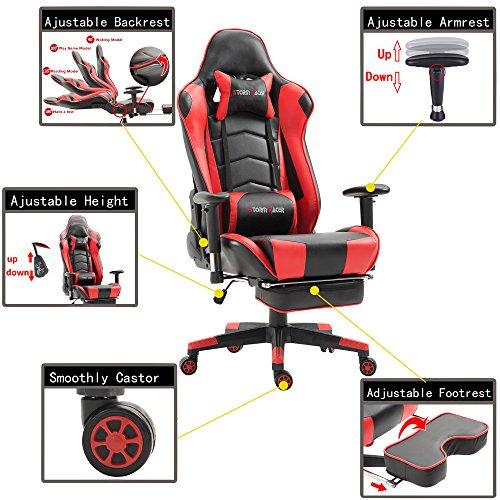 Storm Racer Gaming Stuhl - 4