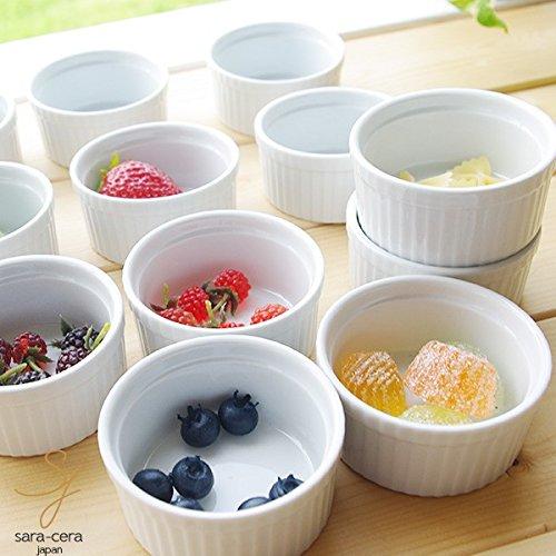 白い食器 オーブンスフレココット 12個セット アウトレット 洋食器 食器セット 磁器 おしゃれ かわいい 人気 日本製 ココット皿 ココット型 耐熱 スフレチーズケーキ スフレ型 スフレ皿 カフェ