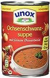 Unox  Konzentrat Ochsenschwanz Suppe 3 Teller, 6er-Pack (6 x 400 ml)