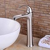 FYYONG Hotel limpio creativo dibujo Cascada caliente y fría mezclada Agua Lavabo baño grifo de la cocina