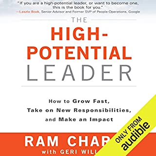 The High-Potential Leader audiobook cover art