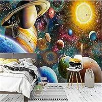 3D壁紙ポスター宇宙宇宙カスタム大規模な壁紙の壁紙3Dテレビの背景リビングルームの写真の壁紙3Dルームの壁紙-400X280cm