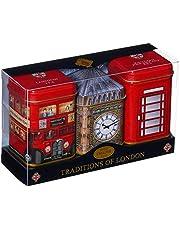 English Tea s in Mini Blikken, Heritage Collectie - 3 x 15-25g Verse Losse Thee