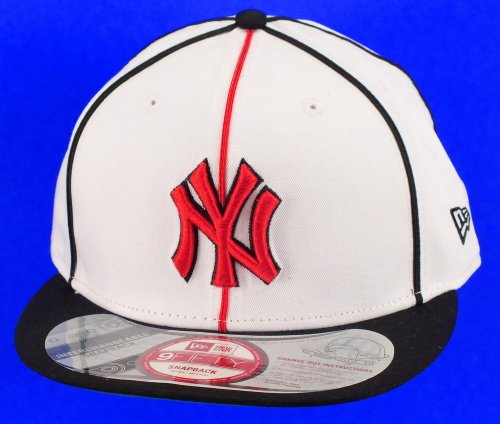 New Era New York Yankees Snapback Soutachestic White / Black / Scarlet - S-M