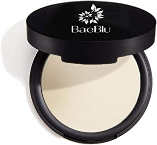 BaeBlu Organic Setting Powder, Extend Makeup Wear Time, Minimize Oil and Pores, Sheer Light