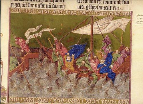 Ottheinrich-Bibel. Dokumentationsmappe zur Faksimile-Edition mit zwei Original- Faksimileblättern.