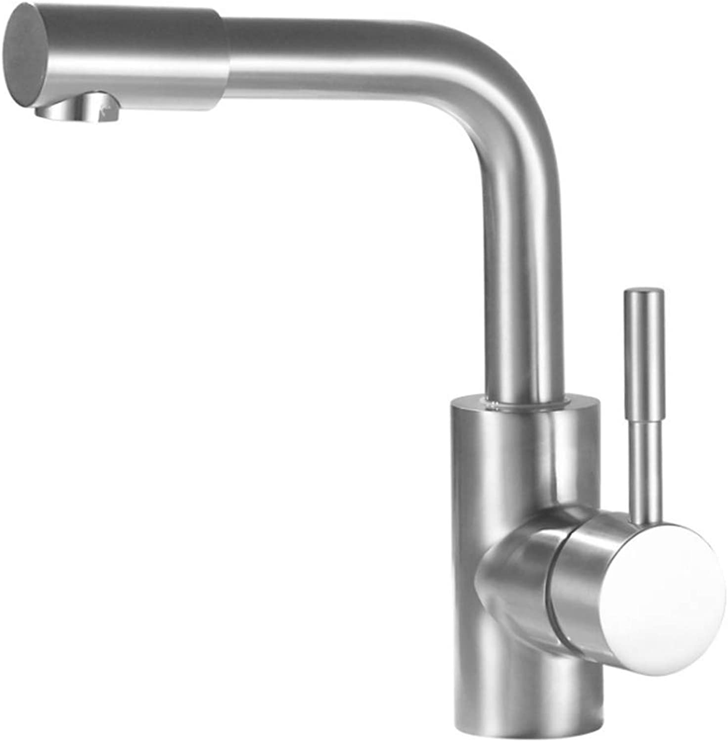 Kitchen Taps Faucet Modern Kitchen Sink Taps Stainless Steel360 Degree redary Cold and Hot Bathroom Faucet