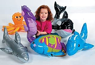 Under The SEA INFLATABLES: Whale, Dolphin, Octopus, Shark, Rainbow Fish, and SEA Horse