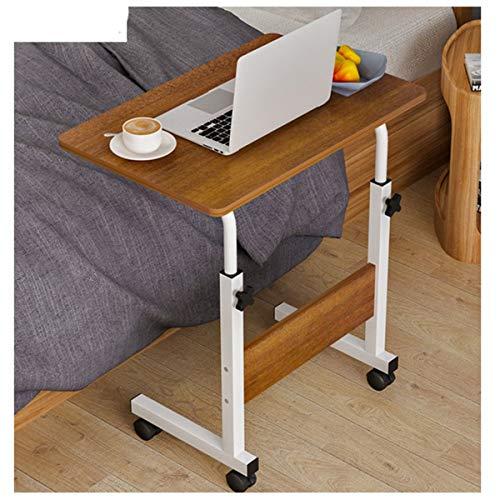 WERTYG Mesa Sofá Mesa De Café, Mesa De Flores Ajustable En Altura, Mesa para Computadora Portátil, Ideal para Entornos Profesionales, como Oficinas Mesa Plegable
