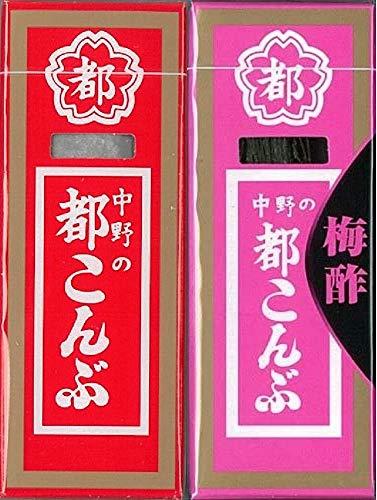 中野物産 都こんぶ 2種24箱セット(都こんぶ&都こんぶ梅酢)各12箱ずつ