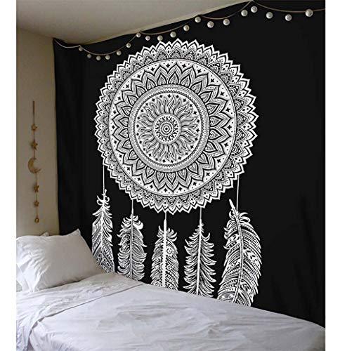 Grsafety Tapiz, Hippie Indio Bohemio Manta de Playa, Manta de Picnic 130 X 150 cm(51