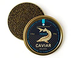 Free delivery upgrade to Next Day Air shipping. This product ships every Monday, Tuesday and Wednesday. Premium quality Ossetra sturgeon caviar. Fresh, lightly salted, unpasteurized, no preservatives, no artificial coloring. The grains are firm with ...