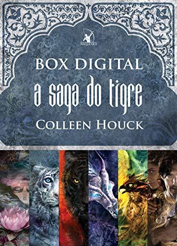 Box A saga do tigre: A maldição do tigre • O resgate do tigre • A viagem do tigre • O destino do tigre • A promessa do tigre • O sonho do tigre