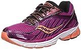 Saucony Phoenix 8 W', Zapatillas para Correr Mujer, Multicolore Purple Coral Pa, 40 EU