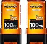 L'Oréal Men Expert Hydra Energy Taurin Duschgel, Minz-Extrakt belebt und regeneriert die Haut...