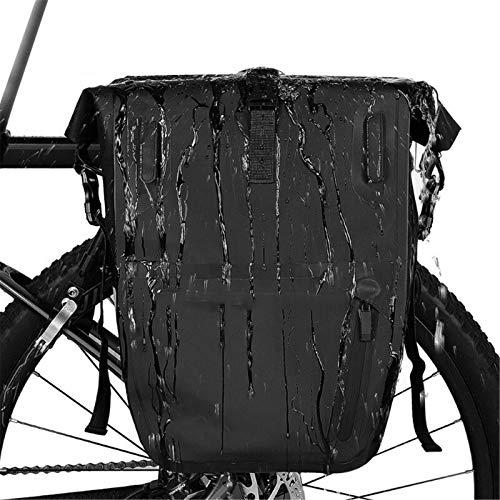 Bolsa de sillín de bicicleta 5L Bolsa de equipaje impermeable reflectante Mochila de bicicleta de montaña Bolsa de sillín de carretera Bicicleta de montaña Ciclismo Rack trasero Bagfor