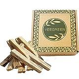Palo Santo - Caja de incienso natural para quemar antiestrés, 150 g, bujía y madera de rituales, pur...
