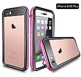 iPhone 6S Plus/6 Plus Waterproof Case, Dooge IP68 Certified Snowproof/Shockproof/Dirtproof Fully Sealed Underwater...