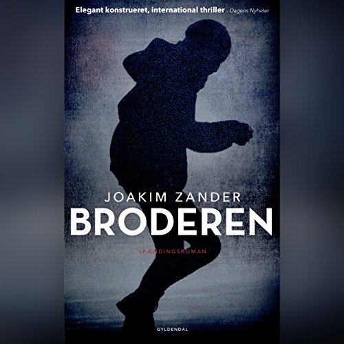 Broderen audiobook cover art