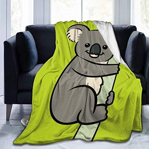 Los niños Duermen insomnio - Manta de Cama de Lana de Franela con diseño de Fresa Fresca y Linda para sofá, Viajes, Regazo, cálida y acogedora, pequeña 40 x 50 Pulgadas