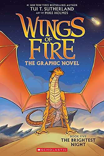 The Brightest Night (Wings of Fire Graphic Novel #5): A Graphix Book (Wings of Fire Graphix)