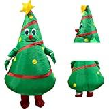 WANGIRL Traje Inflable Disfraz Arbol de Navidad Inflable Adulto Navidad Decorativo Accesorios Traje Inflable Carnival...