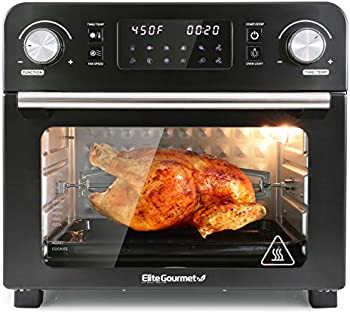 Elite Gourmet EAF9310 23L 1700-Watts Digital Programmable Fryer Oven
