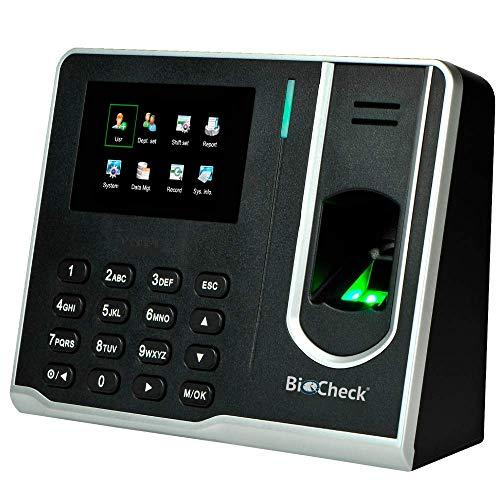 Reloj Checador De Huella Digital marca BioCheck
