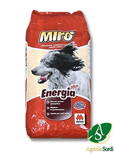 Miro Croccantini Energía Plus 20kg Alimento completo Alimento para Perros Adultos de todas las razas