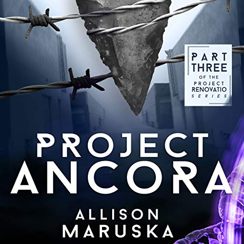 Project Ancora audiobook cover art