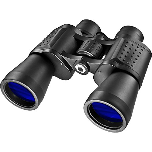 BARSKA CO10675 X-Trail 12x50 Wide Angle Porro Binoculars for Birding, Hiking, Sports, Events, Theater, etc, Black