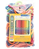 """""""Friendly Loom Potholder Cotton Loops 7"""""""" Traditional Size Loops Make 2 Potholders, Weaving Crafts for Kids and Adults-Multi by Harrisville Designs"""", multicolor (F551M)"""