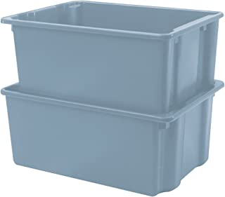 Winholt SN-2618 Stack and Nest Containers with Lug, Polyethylene, 19