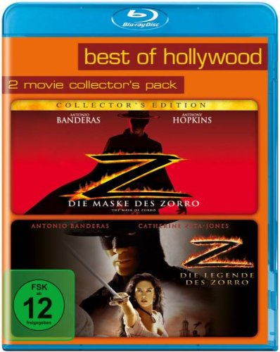 Die Maske des Zorro/Die Legende des Zorro - Best of Hollywood/2 Movie Collector's Pack [Blu-ray]