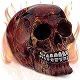 mtb more energy Cráneo ''Ghost Riding Johnny'' - Altura 14 cm - Figura Decoración Horror fantasía fantástico