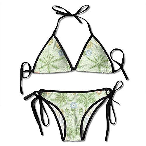 Swimsuit,Patrón De Aguacate Bikinis para Mujer Traje De Baño Bikini con Estampado Sexy Trajes De Baño