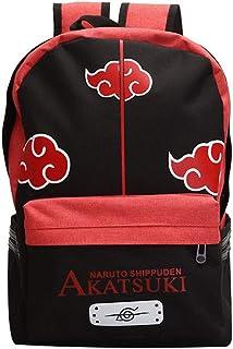 Bolsas Escolares Mochilas Infantiles Anime Casual Mochila Naruto Shippuden Akatsuki Canvas Casual Mochila