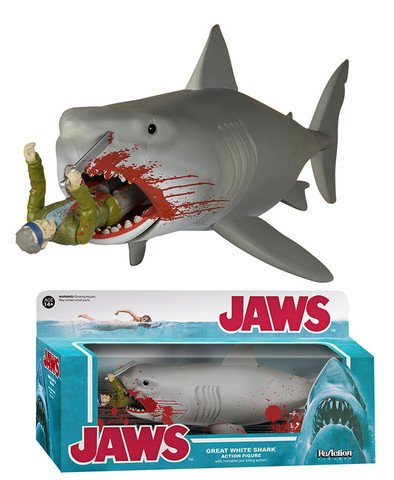Funko Reaction Jaws Bloody Great White Shark & Quint Final Battle (SDCC 2015 Exclusive)