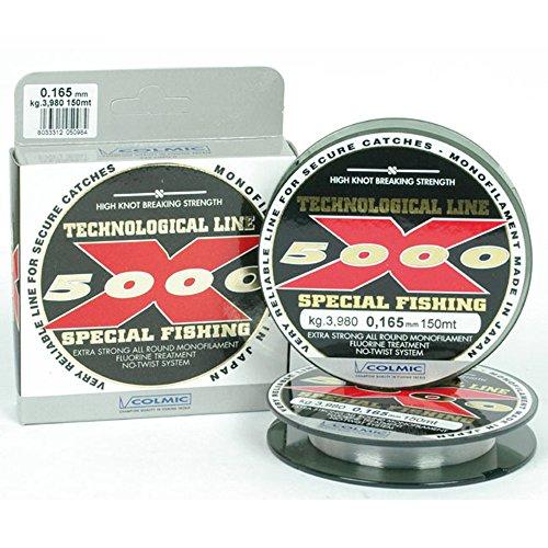 FILO X-5000 150MT - 0,18MM