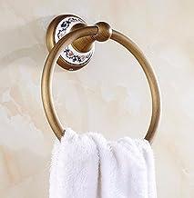MBYW moderne minimalistische hoge dragende handdoek rek badkamer handdoekenrek Blauw en wit porselein, antiek, koper, hand...