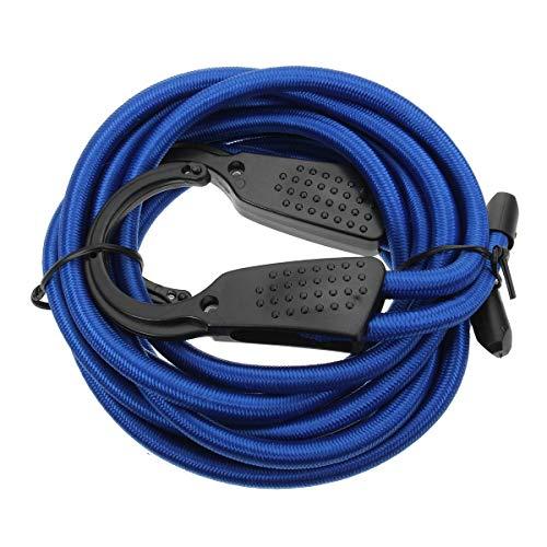 MXBIN 3M Voiture Crochet Sandow réglable termine Corde tressée Porte-Bagages Porte-vêtements Sangle Outil de réparation de pièces Accessoires (Color : Blue)
